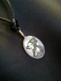 Ada Lovelace pendant