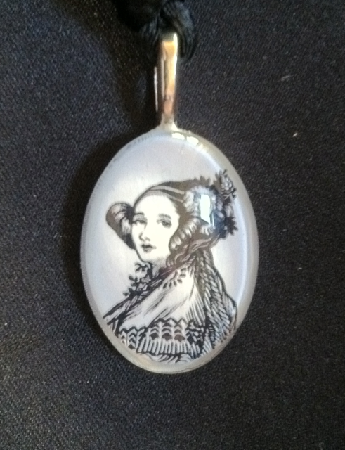 Schwag done right the ada lovelace pendant ada initiative ada lovelace pendant aloadofball Images
