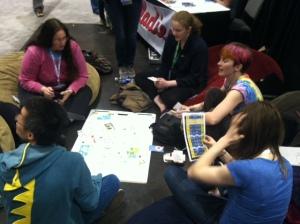 Teaching threat modeling at the feminist hacker lounge
