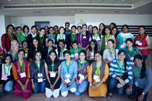 Group shot of AdaCamp Bangalore attendees