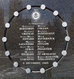 École Polytechnique massacre memorial, by Bobanny [Public domain], via Wikimedia Commons