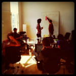 People working together at Singly